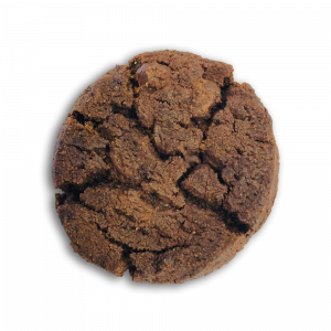 Eggless Double Chocolate Cookie